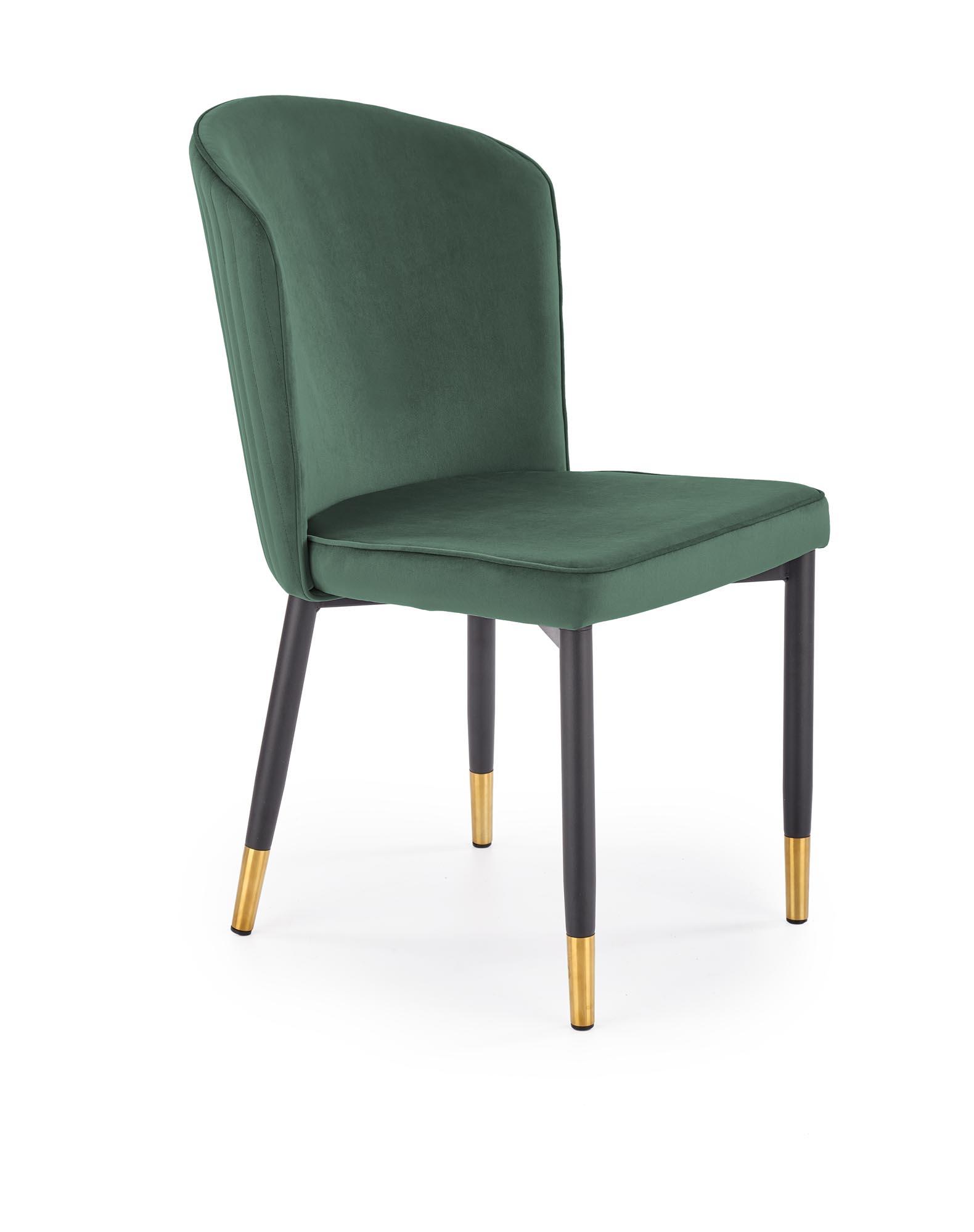 K446 krzesło ciemny zielony