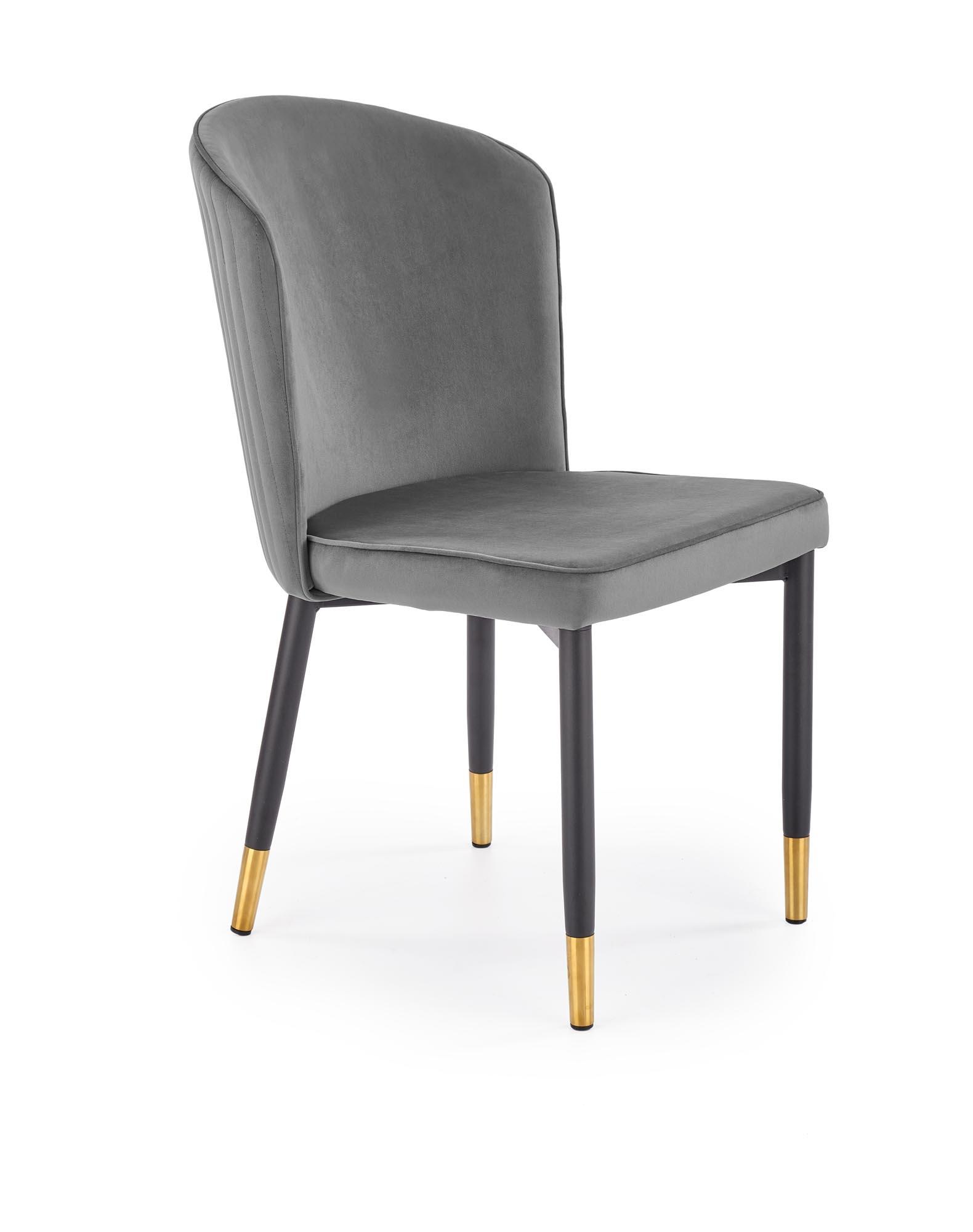 K446 krzesło popielaty