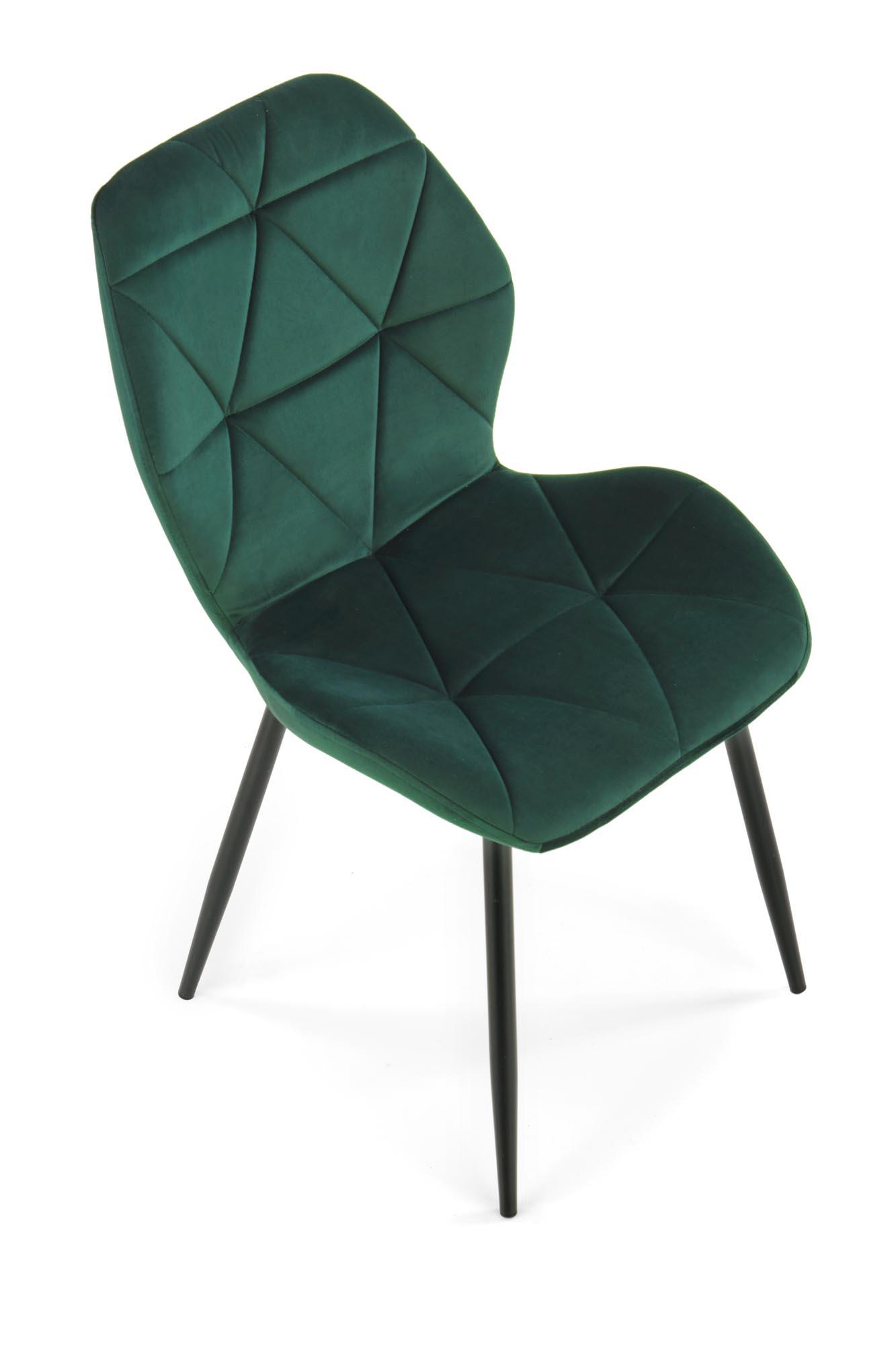 K453 krzesło ciemny zielony