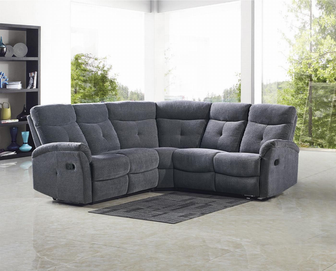 LAHTI sofa ciemny popiel