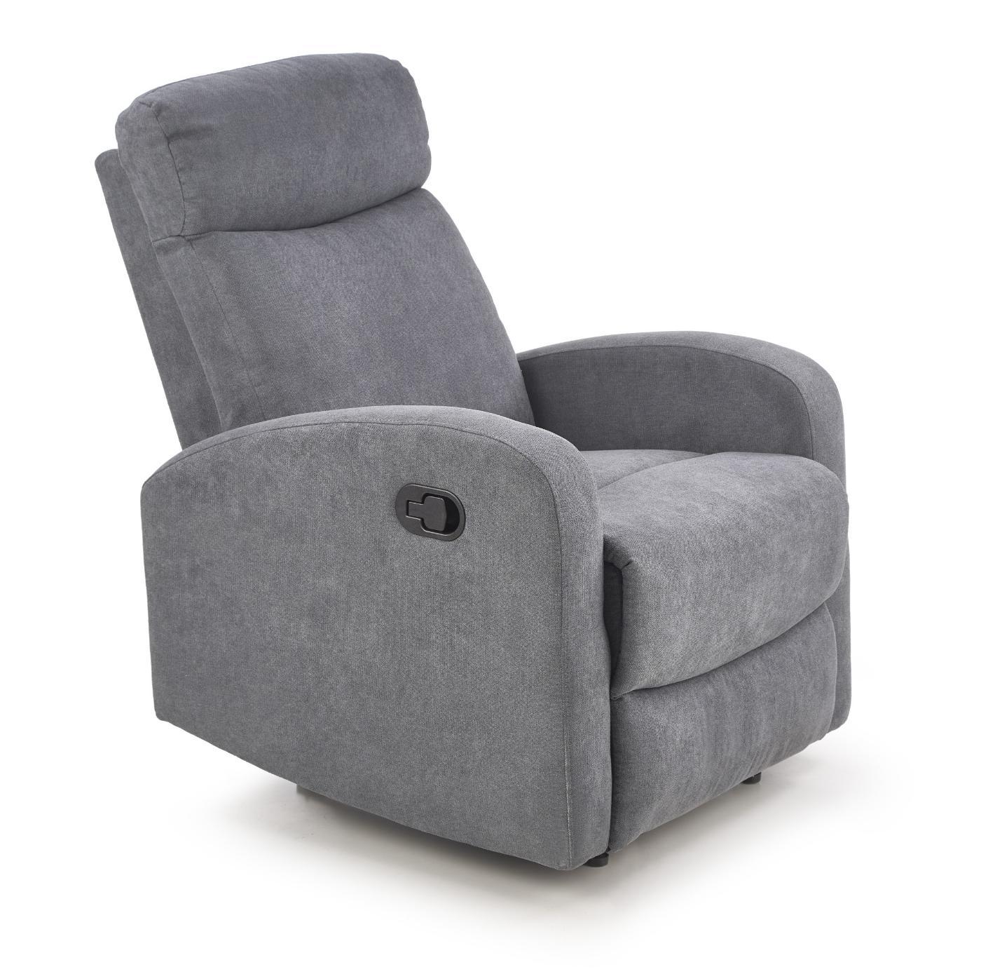 OSLO 1S zestaw wypoczynkowy, fotel 1S ciemny popiel (1p=1szt)