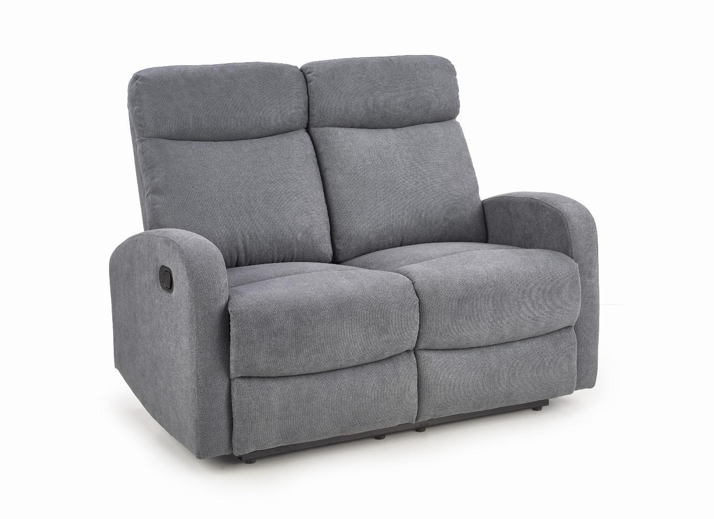 OSLO 2S zestaw wypoczynkowy, sofa 2S ciemny popiel (1p=1szt)
