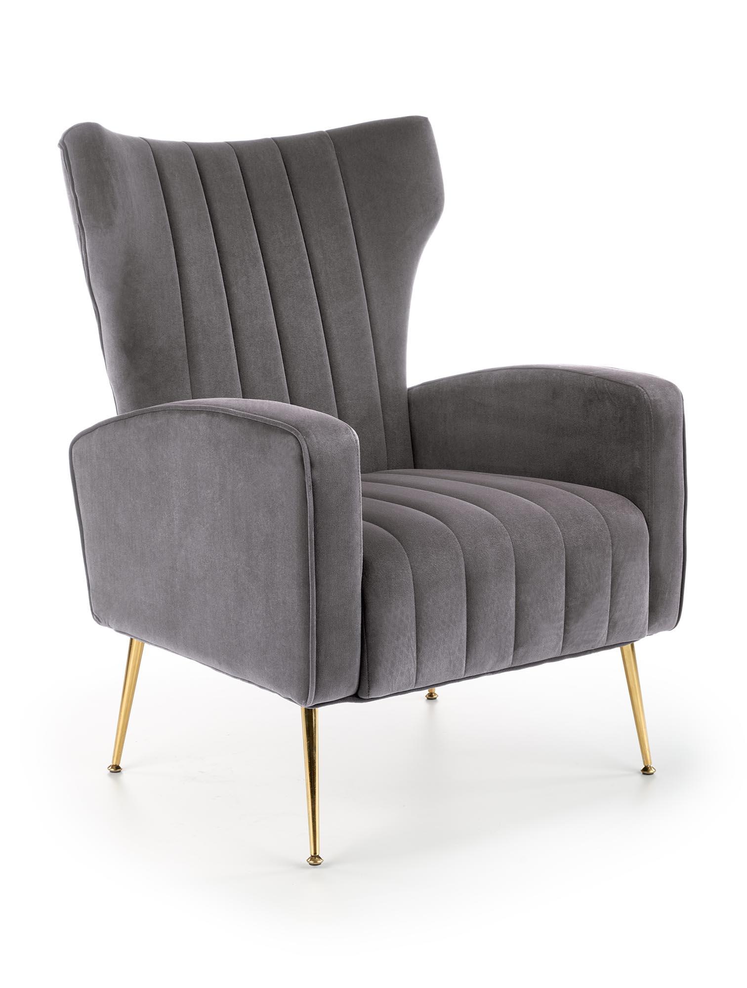 VARIO fotel wypoczynkowy popielaty