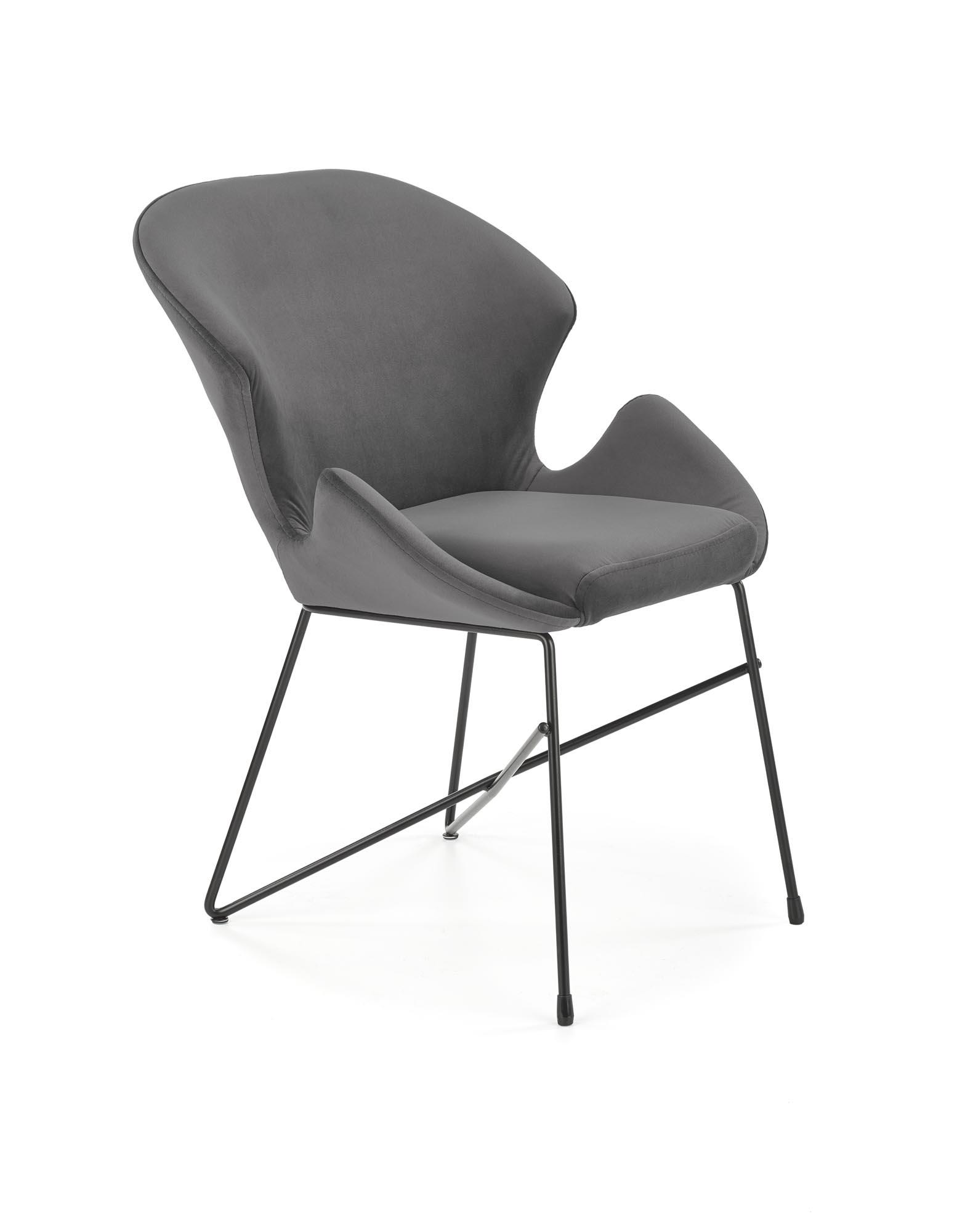 K458 krzesło, kolor: popielaty