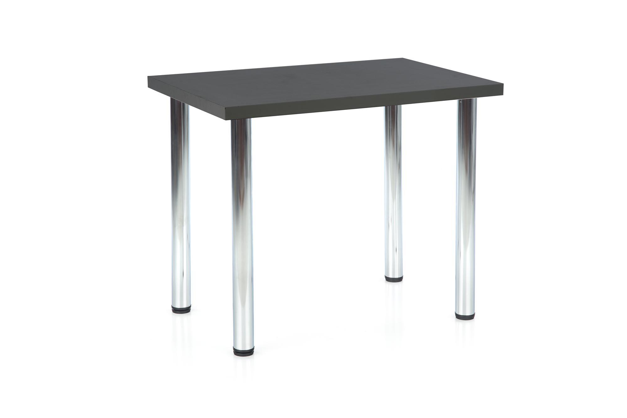 MODEX 90 stół kolor blat - antracyt, nogi - chrom (2p=1szt)