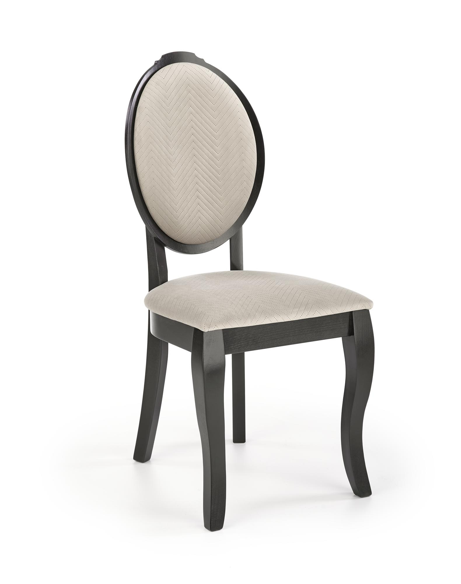 VELO krzesło kolor czarny/beżowy
