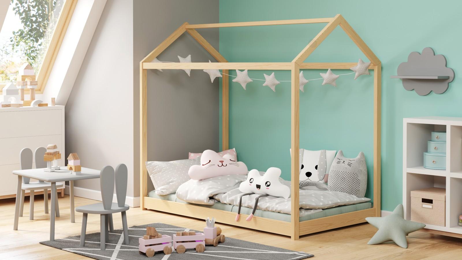 YOGI sosna łóżko 80x160