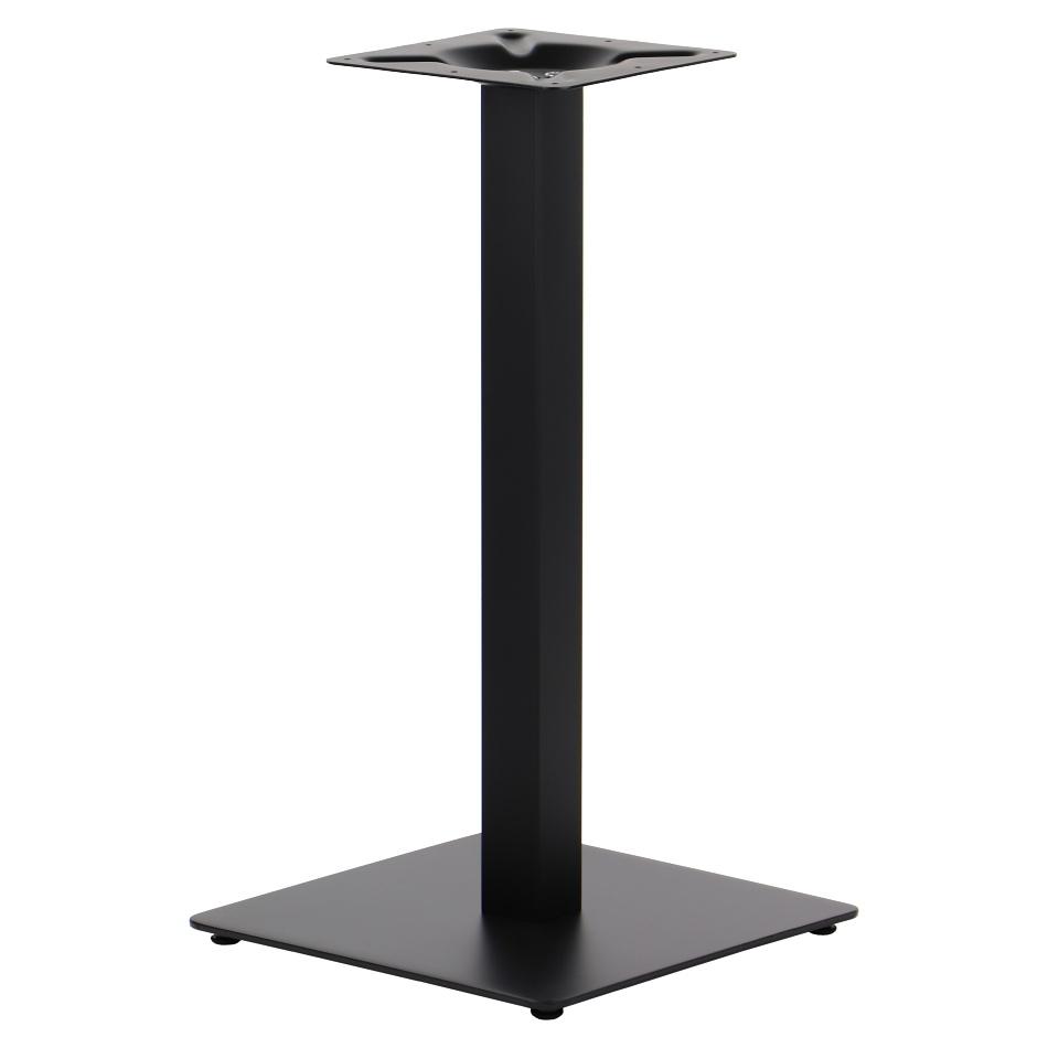 Podstawa do stolika EF-SH-5002-1/60/B czarna - wysokość 72 cm 40x40 cm