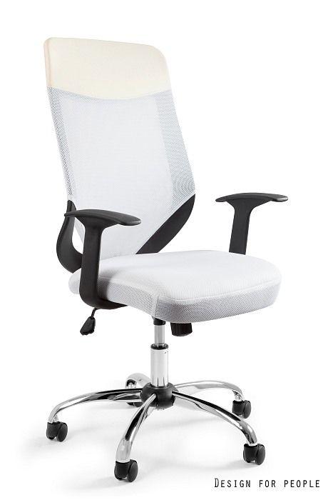 Fotel biurowy MOBI PLUS - BIAŁY