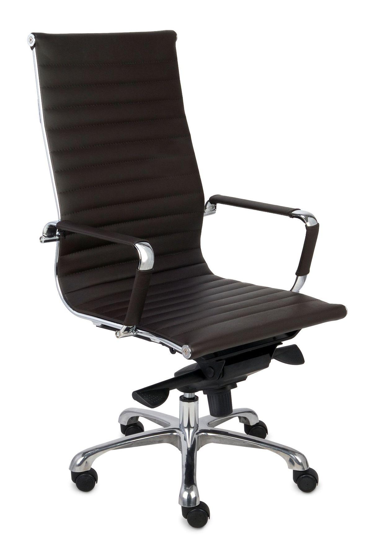 Fotel Biurowy obrotowy NEXT SN3 brązowy