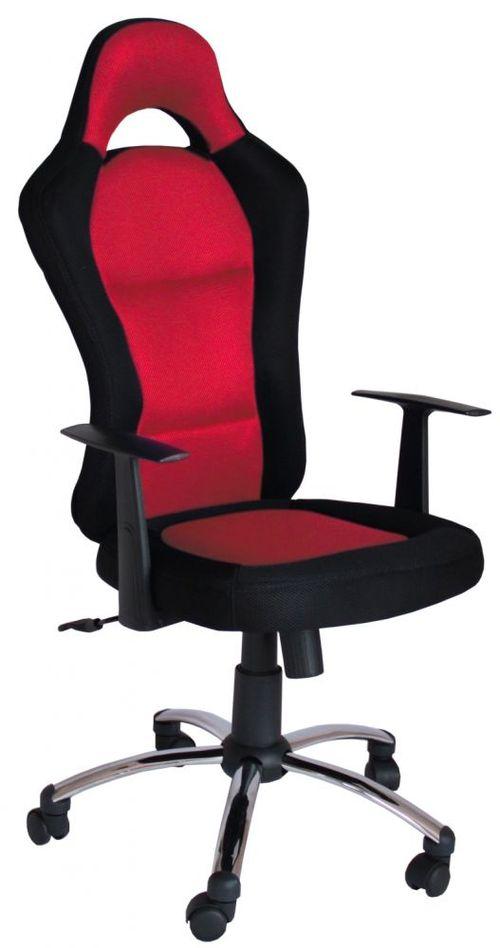 Krzesło Obrotowe QZY 1109C RACING Czerwono-czarne