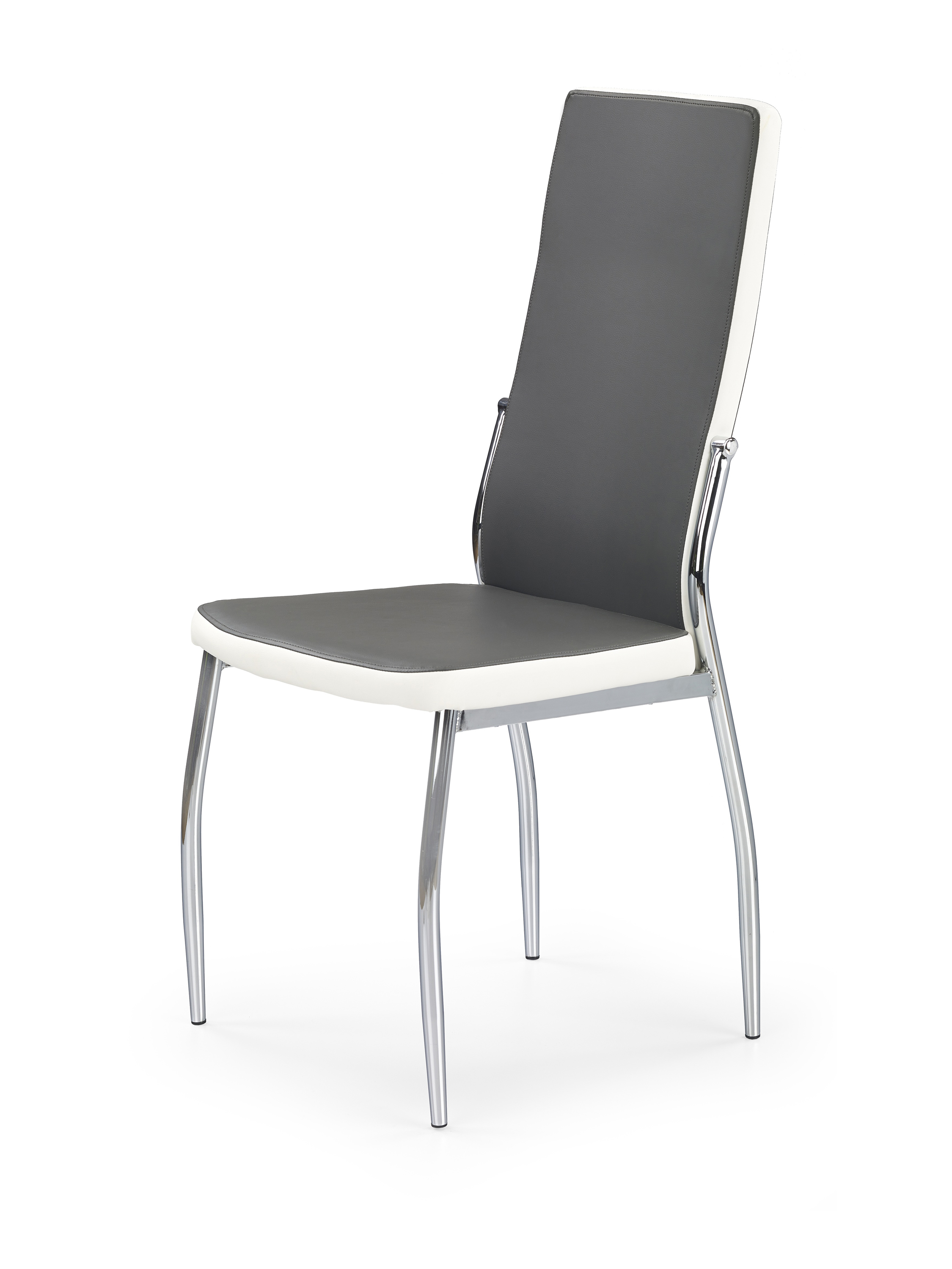 K210 krzesło popiel / biały (1p=4szt)