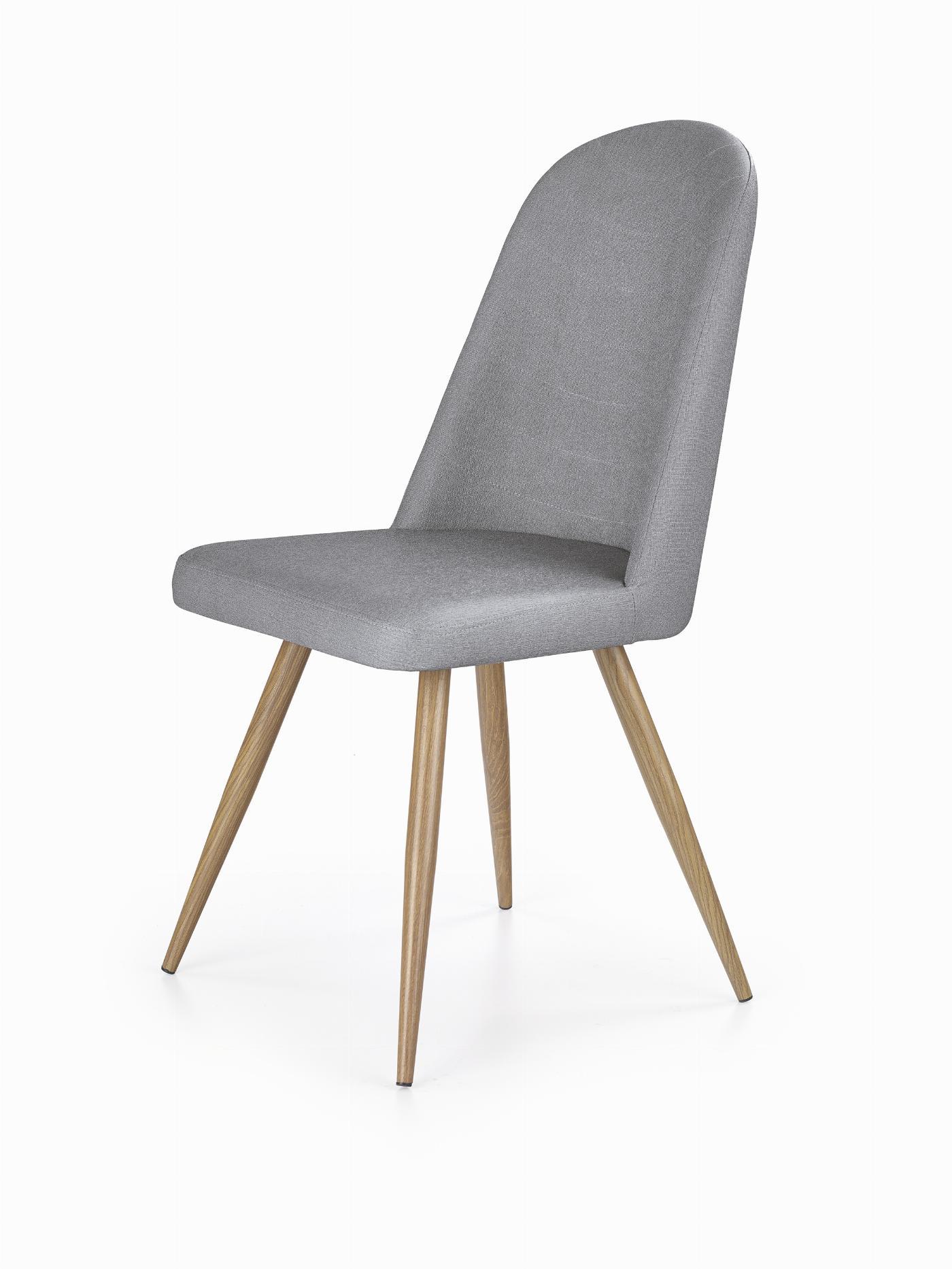 K214 krzesło popiel / dąb miodowy (2p=4szt)