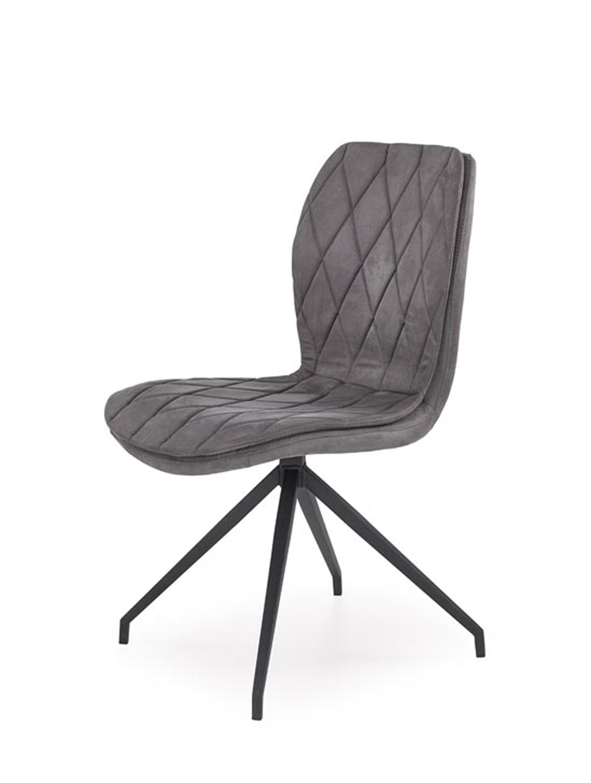 K237 krzesło popielate (2p=4szt)