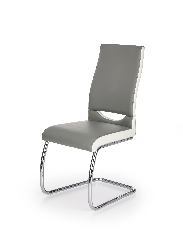 K259 krzesło popiel / biały (2p=4szt)