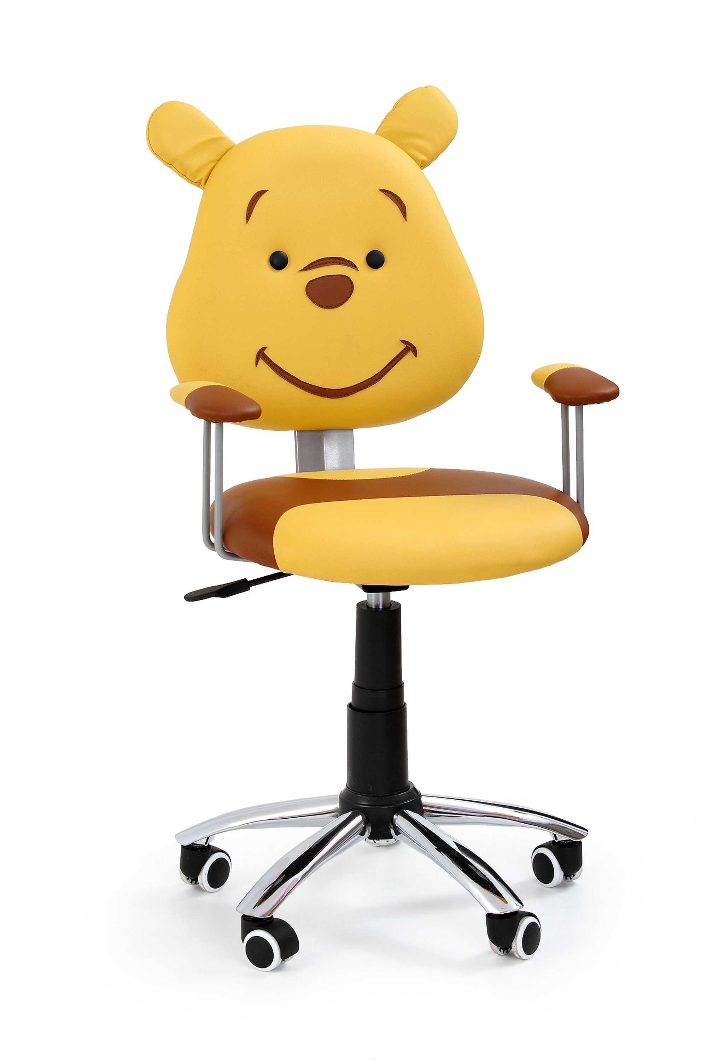 KUBUŚ fotel młodzieżowy brązowy