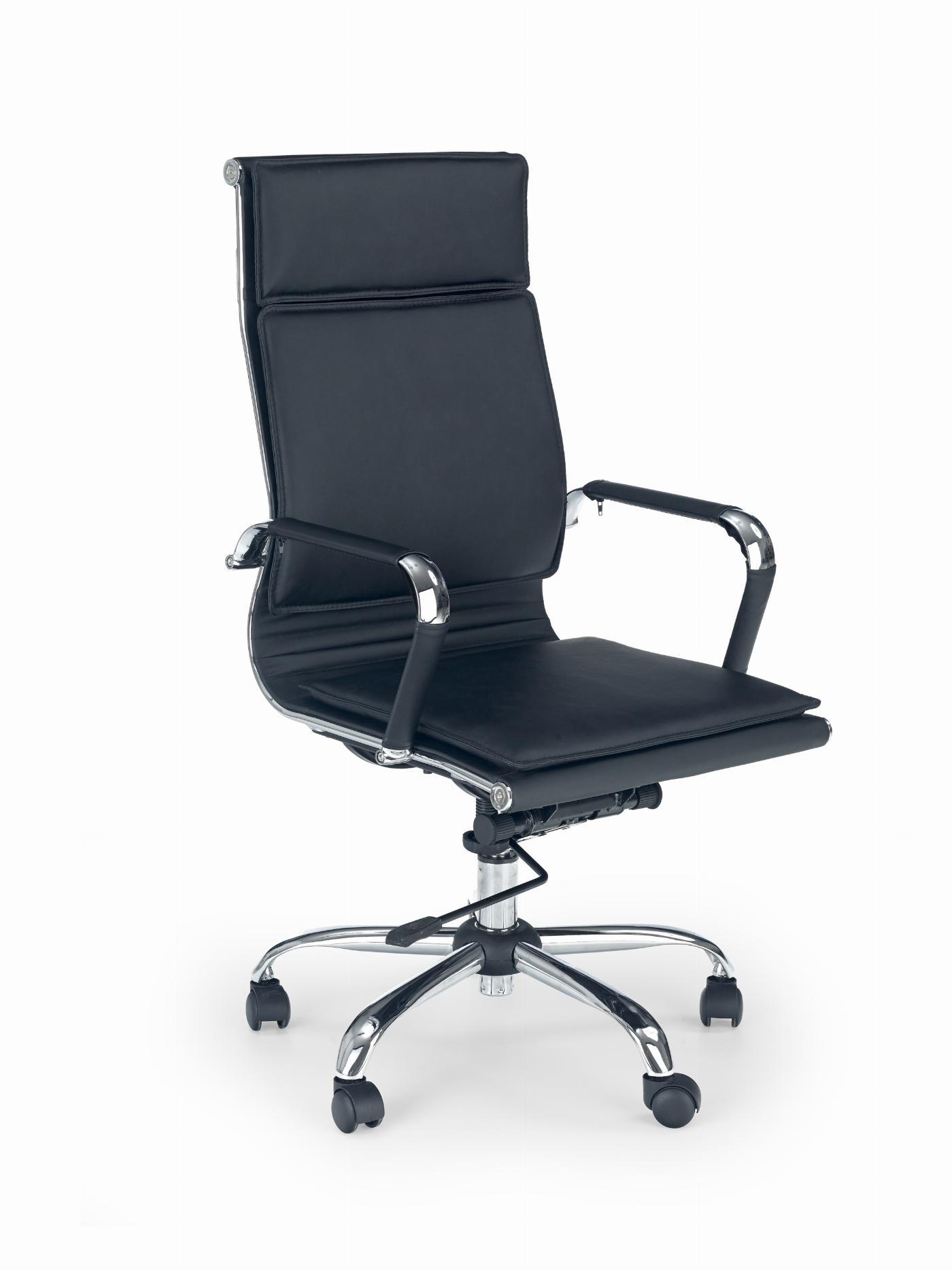 MANTUS fotel gabinetowy czarny