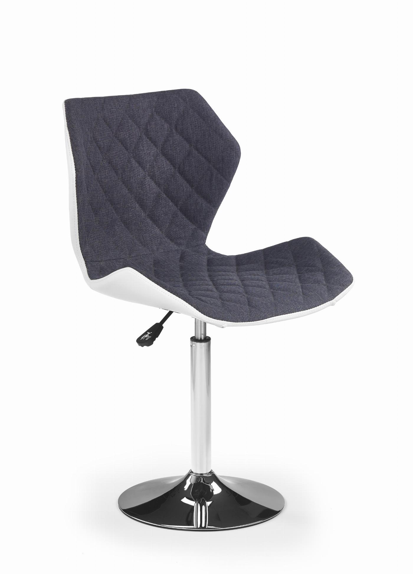 MATRIX 2 fotel biało-popielaty (1p=2szt)