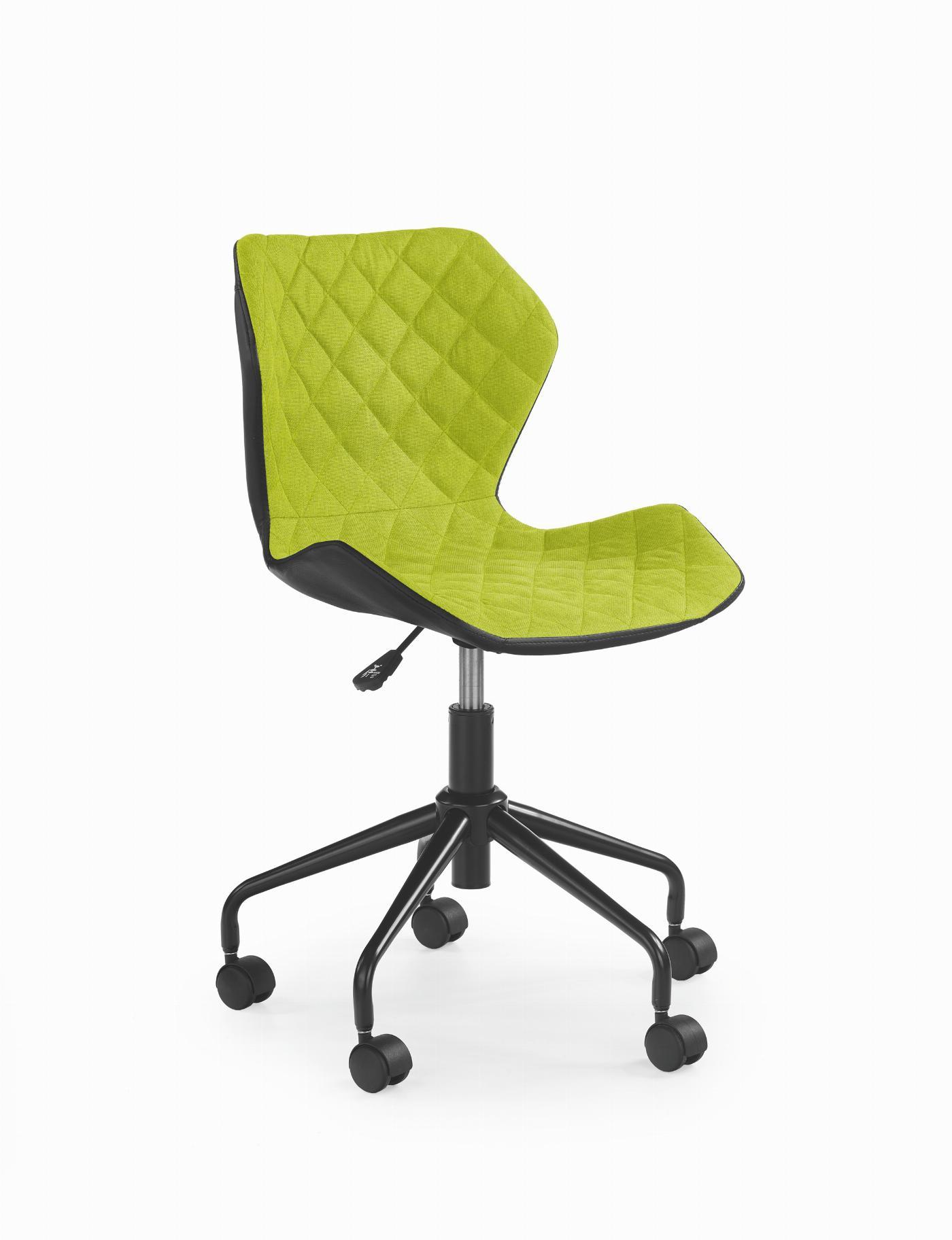 MATRIX fotel młodzieżowy czarny / zielony (1p=1szt)