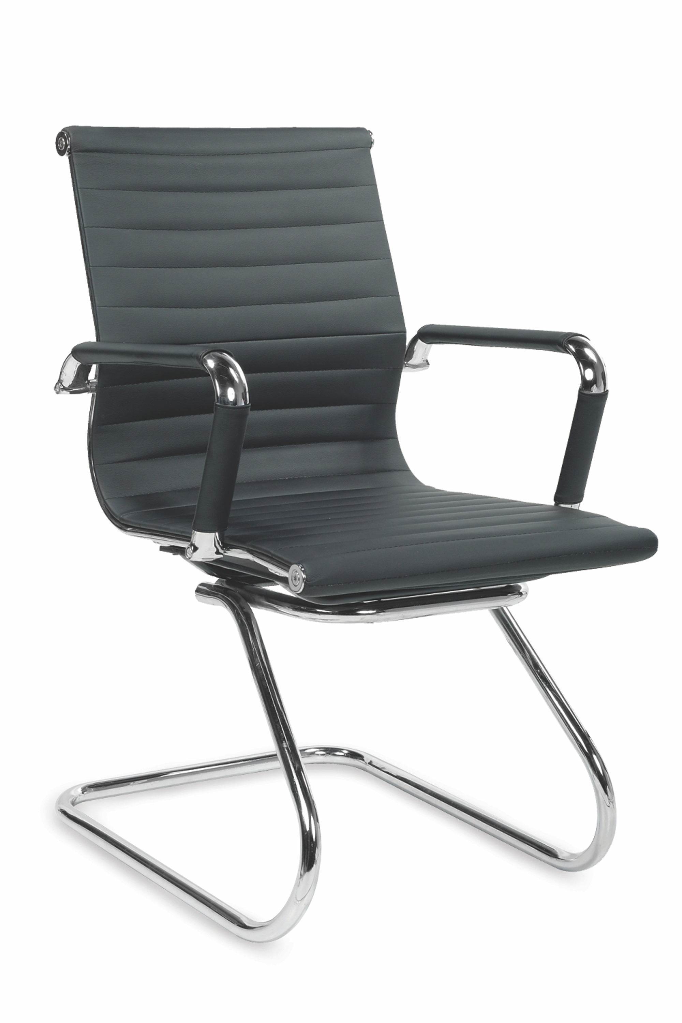 PRESTIGE SKID fotel gabinetowy czarny