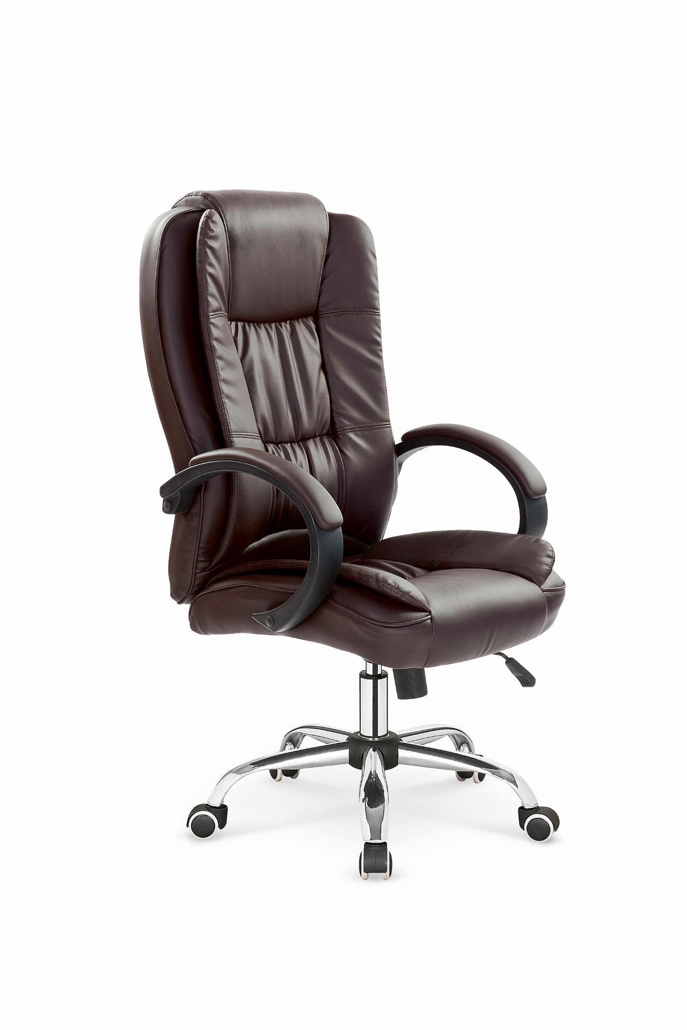 RELAX fotel gabinetowy ciemny brąz