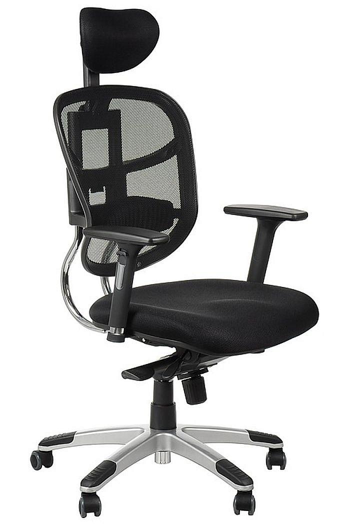 Fotel Biurowy Obrotowy EF-HN5018 czarny