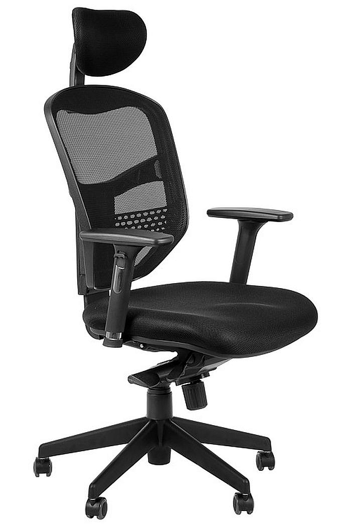 Fotel Biurowy Obrotowy EF-HN5038 czarny