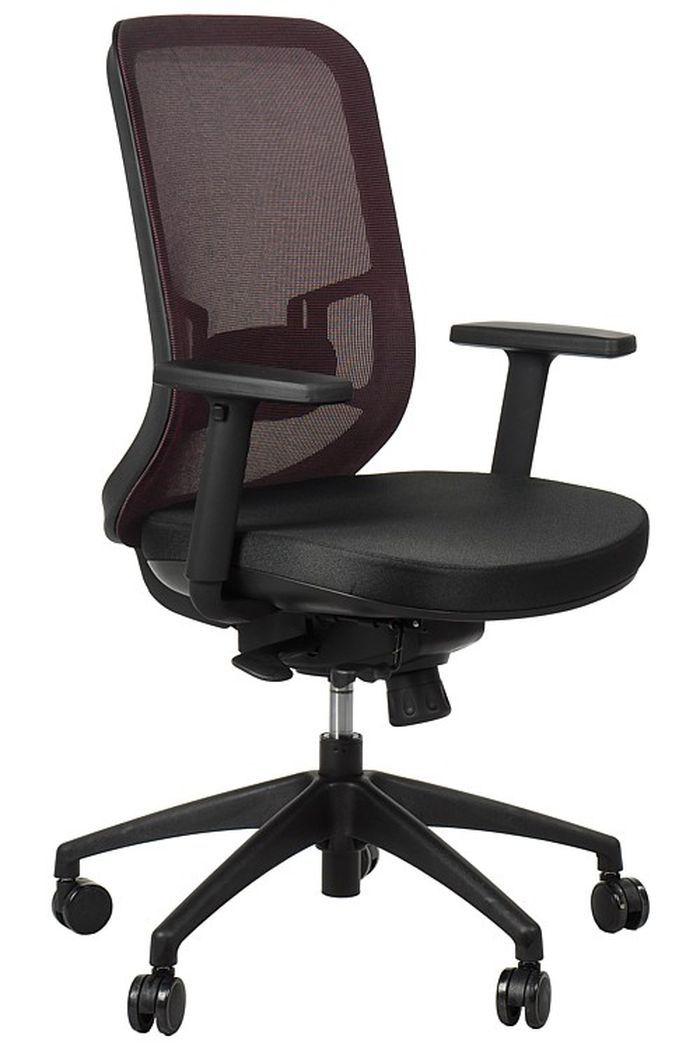 Fotel Biurowy Obrotowy EF-GN310 bordo