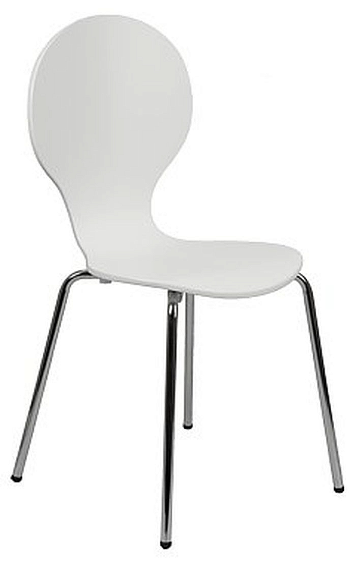 Krzesło konferencyjne EF-TDC 122 biały