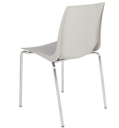 Krzesło konferencyjne ARI kubełek szary