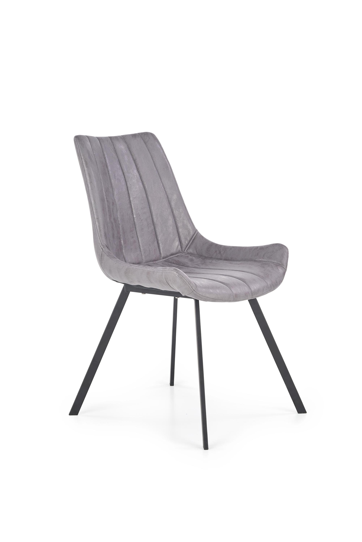 K279 krzesło popielaty / czarny