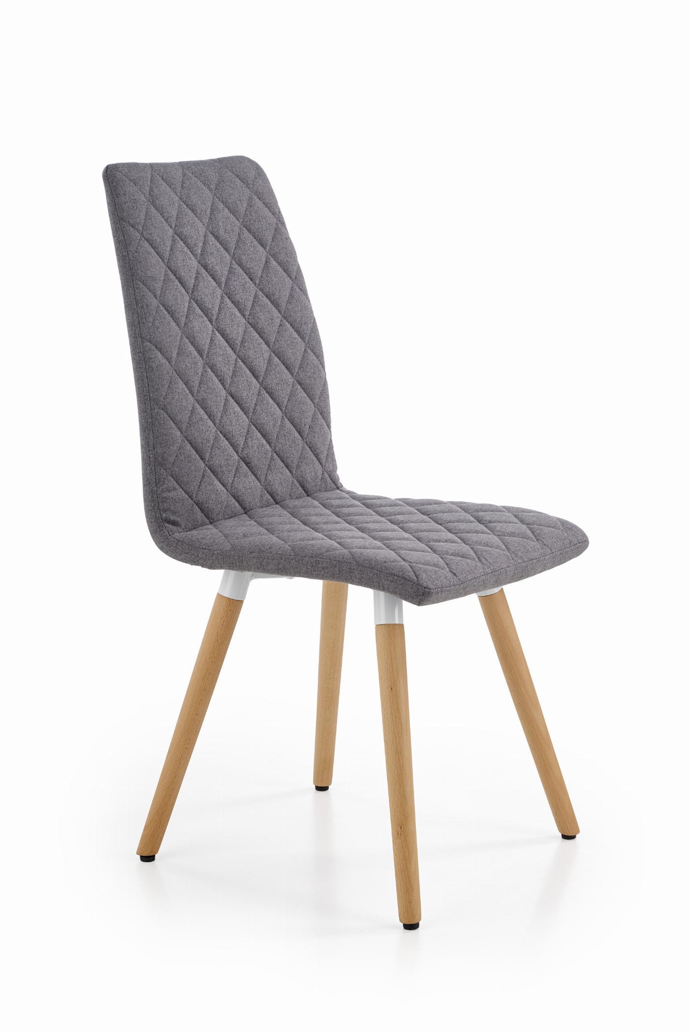 K282 krzesło popielaty
