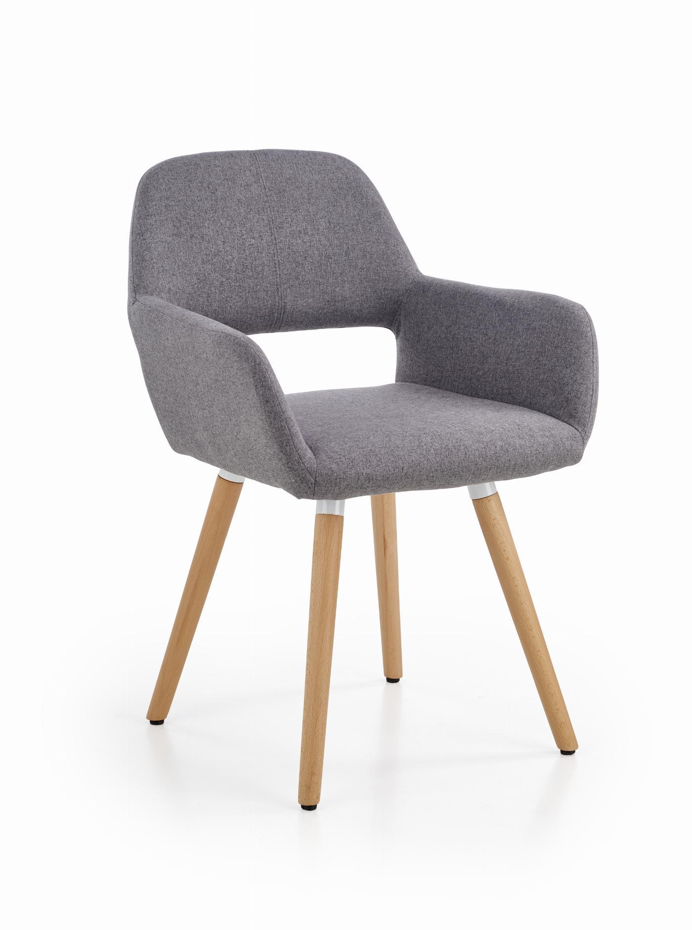 K283 krzesło popielaty