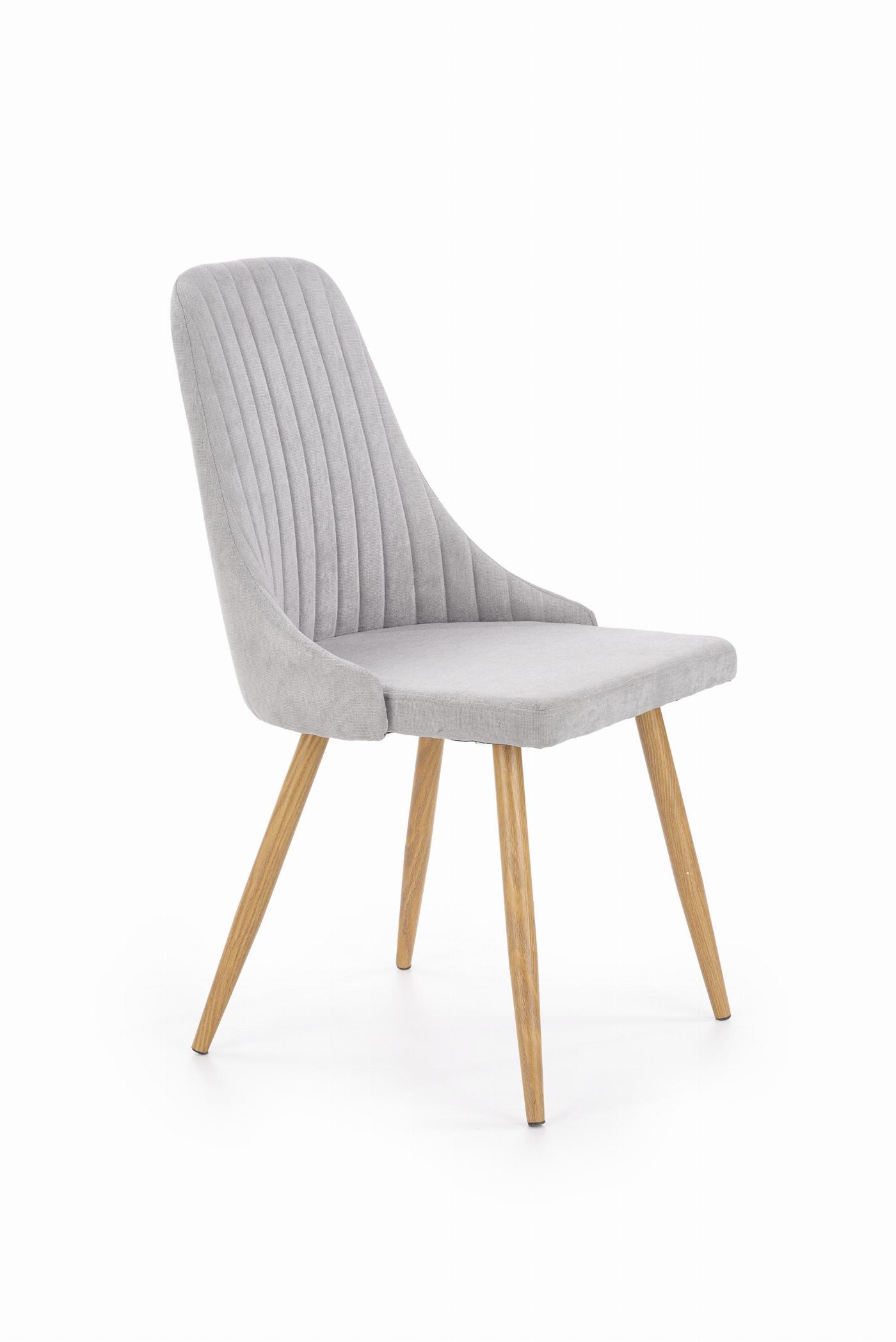 K285 krzesło jasny popiel