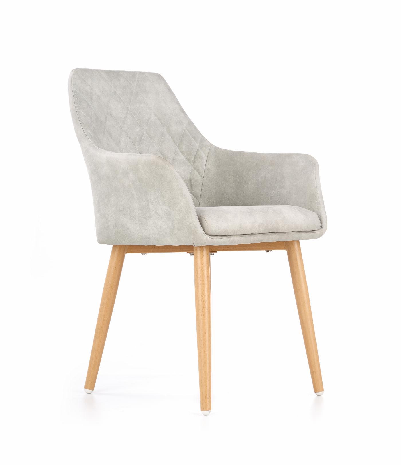 K287 krzesło popielaty
