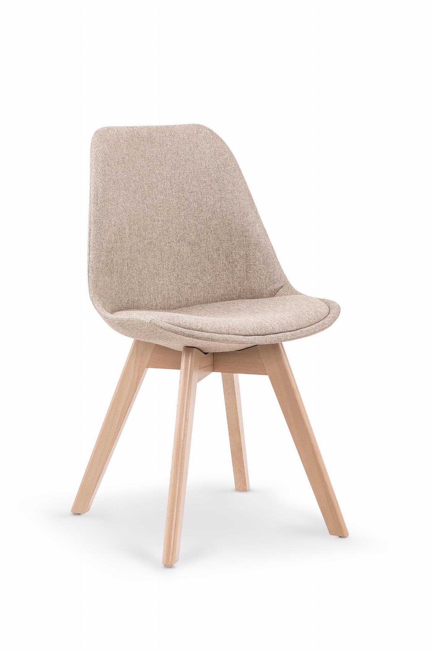 K303 krzesło beżowy / buk