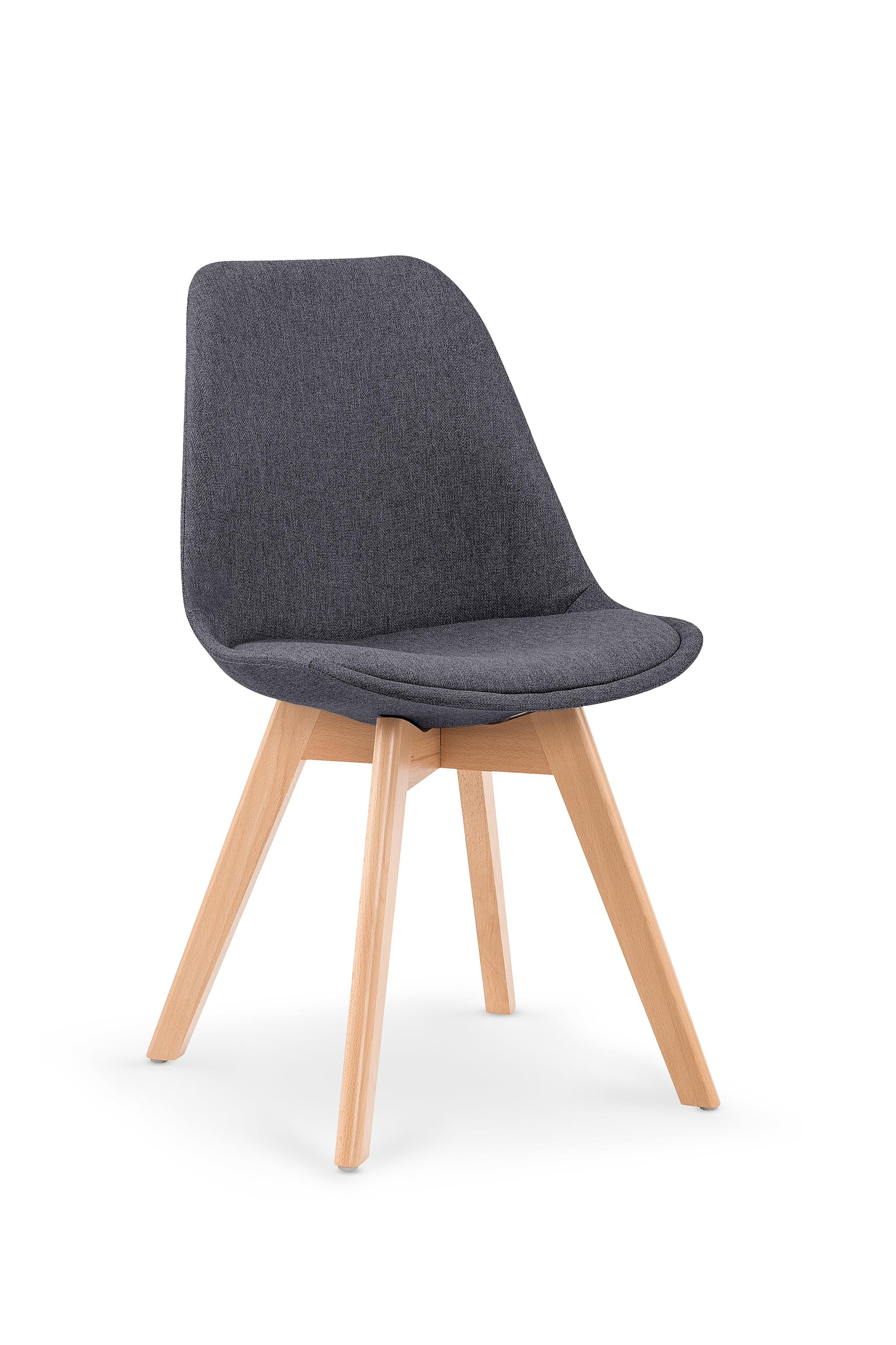 K303 krzesło ciemny popiel / buk