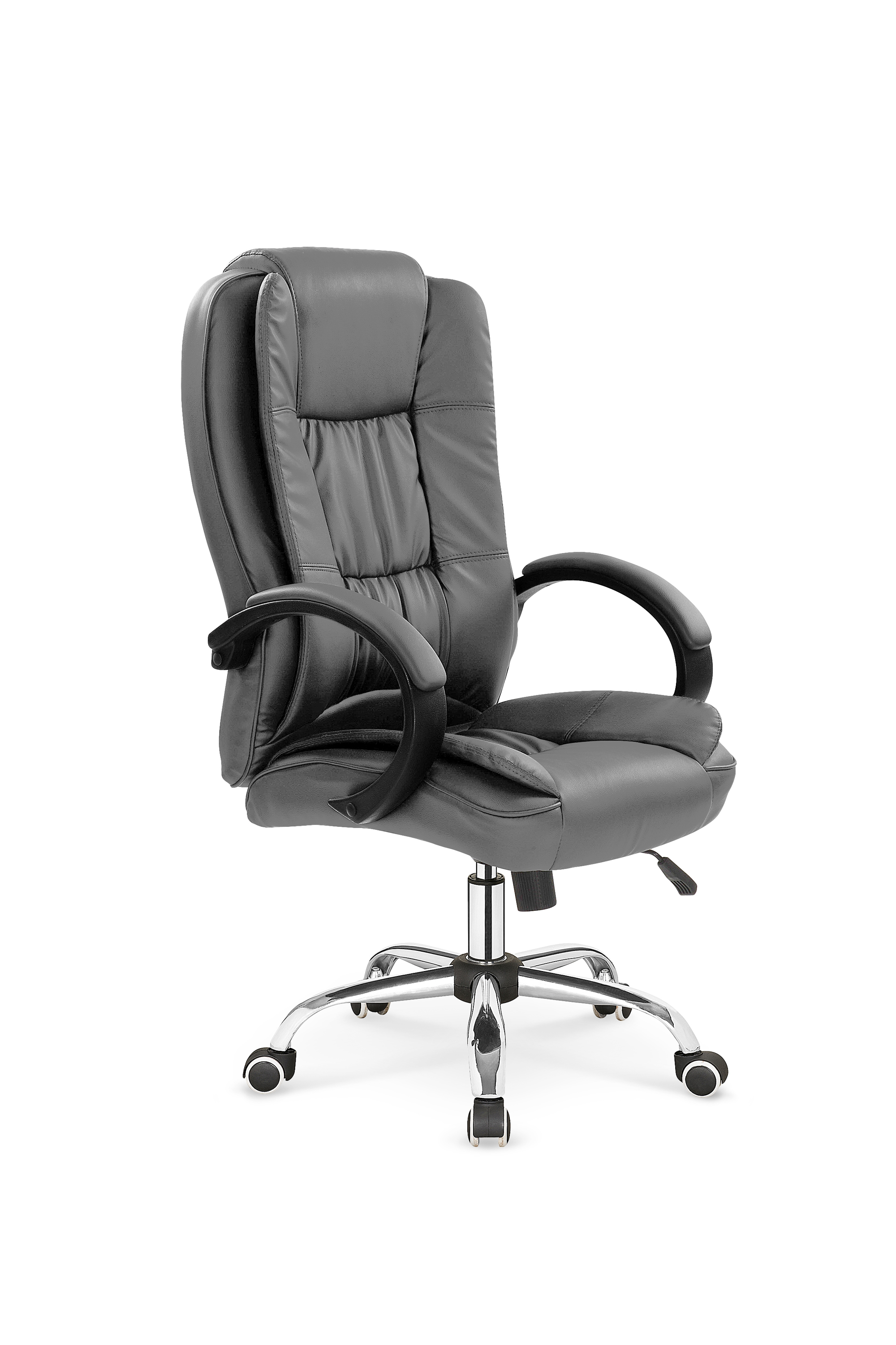 RELAX fotel gabinetowy popielaty