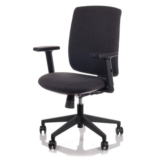 Fotel Biurowy Obrotowy  EF-ZN-605B-26 szary