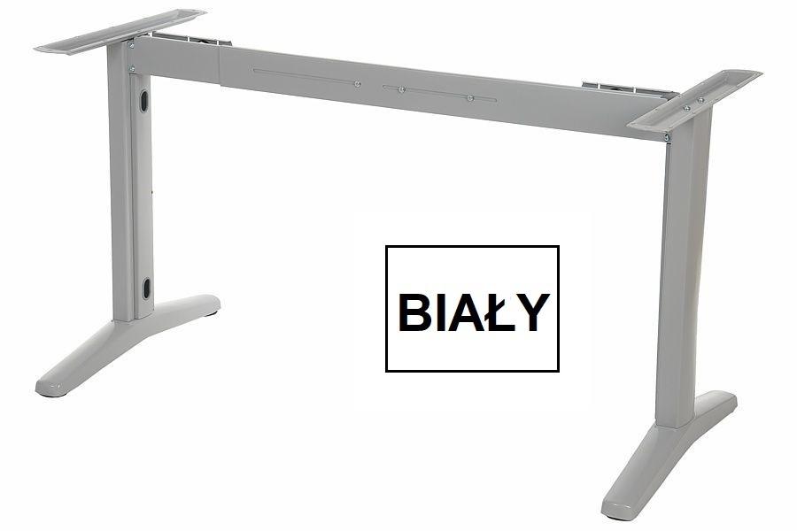 Stelaż metalowy do stołu EF-STT-01 biały- rozsuwana belka