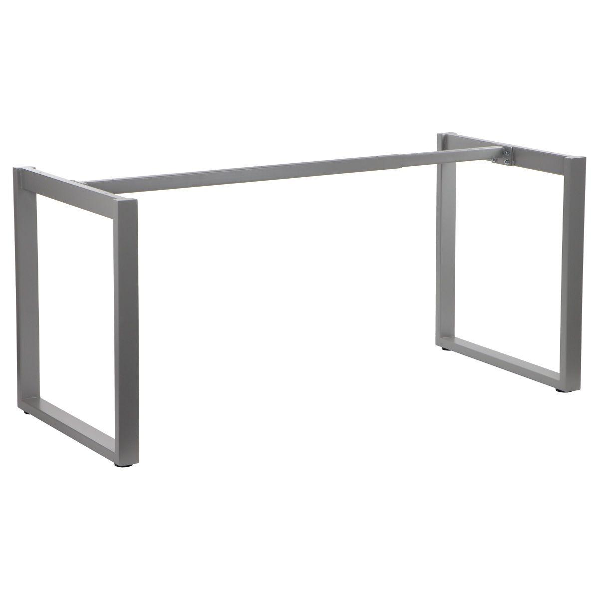 Stelaż skręcany do stołu i biurka EF-NY-131 aluminium 139,6x69,6 cm