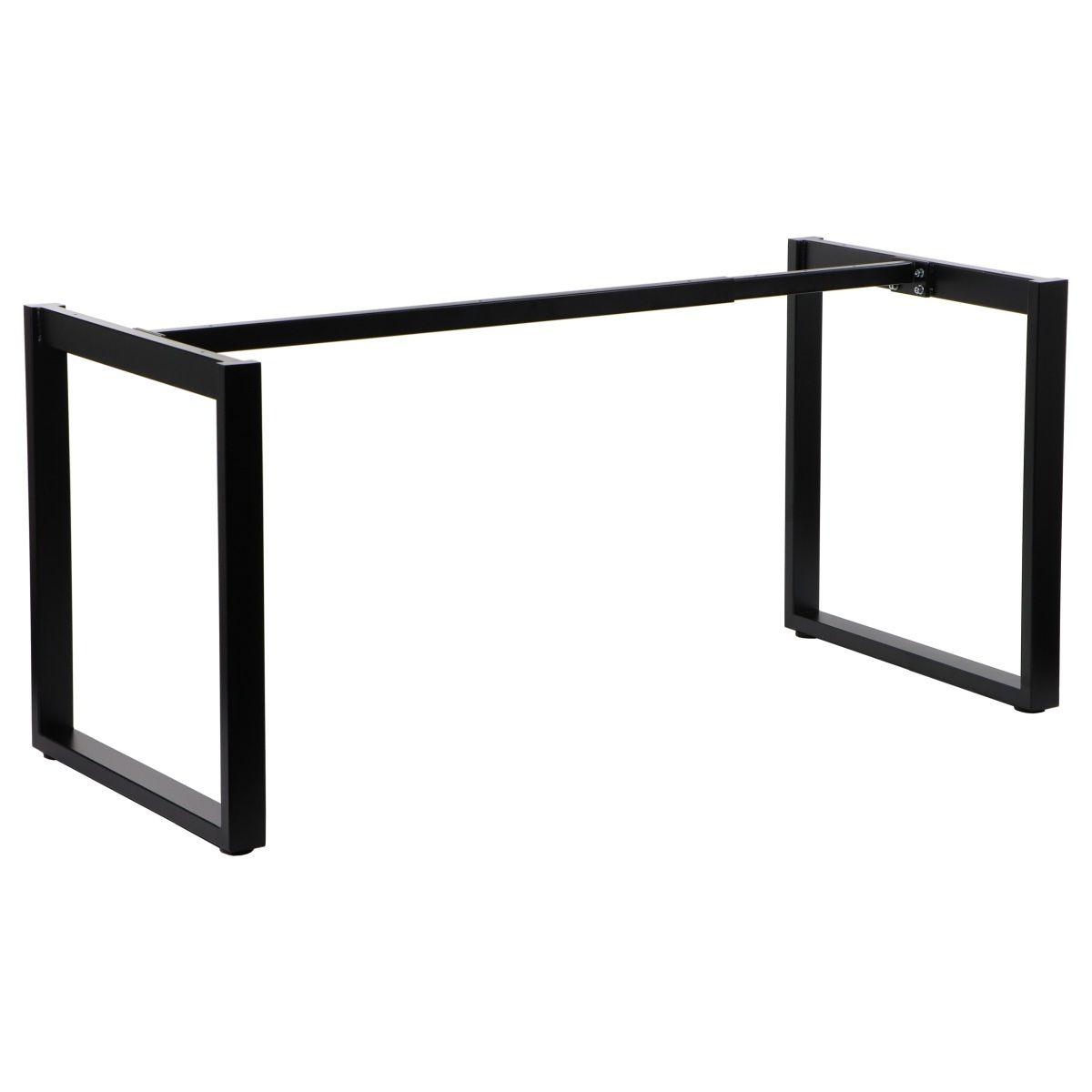 Stelaż skręcany do stołu i biurka EF-NY-131 czarny 139,6x69,6 cm