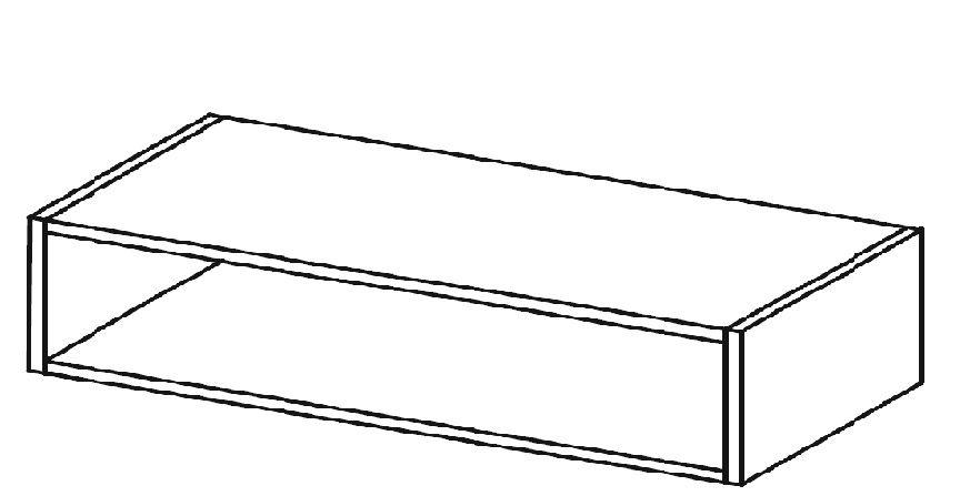 Moduł komody otwarty HX 009