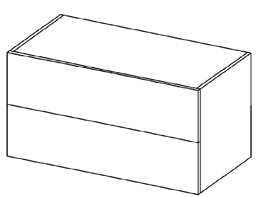 Moduł komody z szufladami HX 014