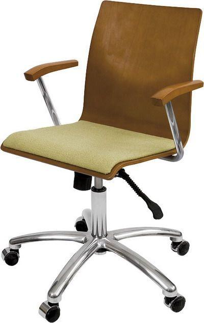 Krzesło konferencyjne Irys Obrotowy B Wood  NS