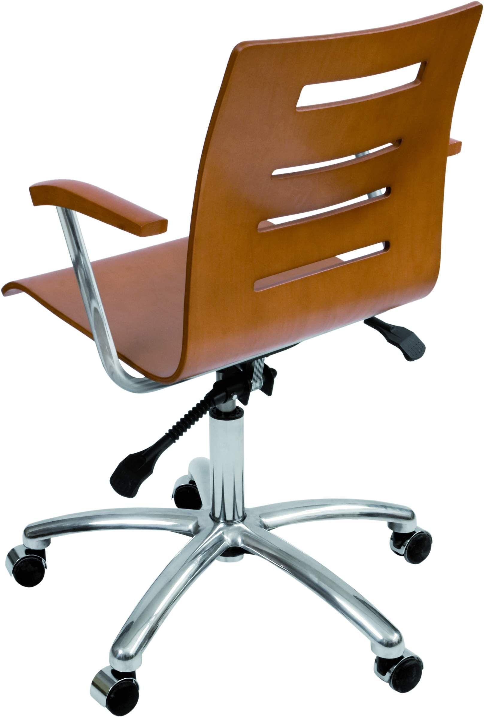 Krzesło konferencyjne Irys Obrotowy B Wood Lux
