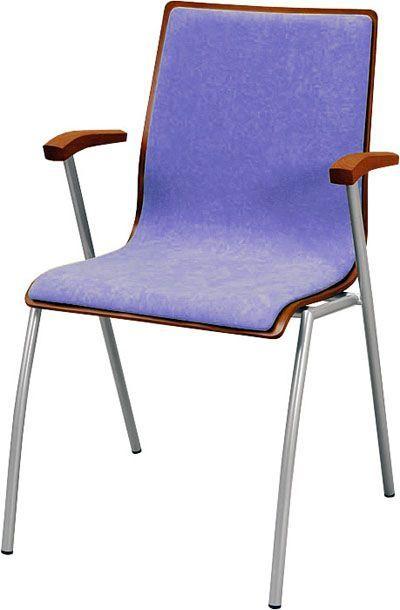 Krzesło konferencyjne Irys B Wood NC