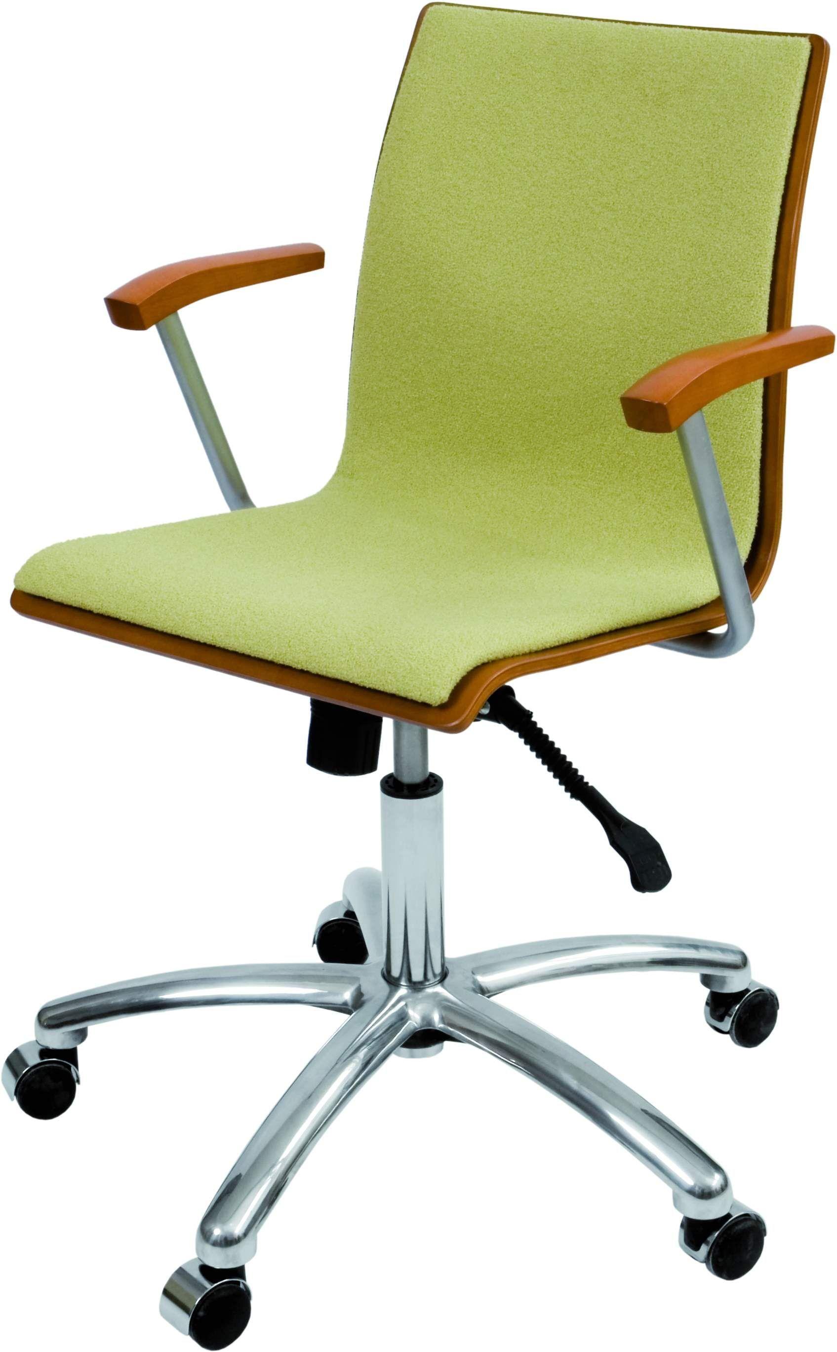 Krzesło konferencyjne Irys Obrotowy B Wood  NC