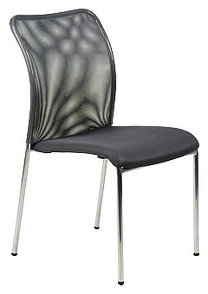Krzesło konferencyjne EF-HN7502 chrom/grafit