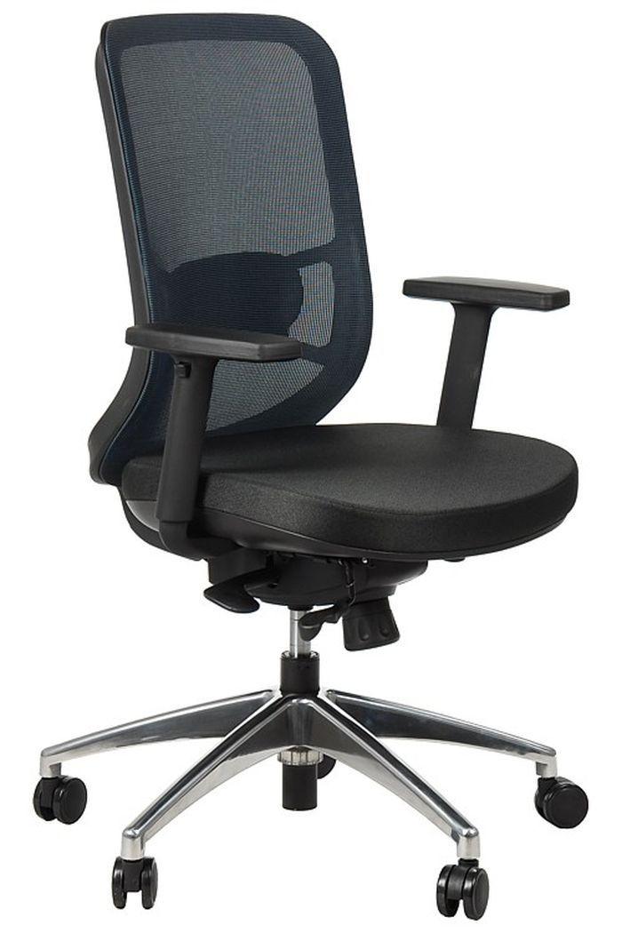 Fotel Biurowy Obrotowy EF-GN310 alu niebieski